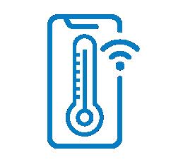 podatki o temperaturi vedno na dlani