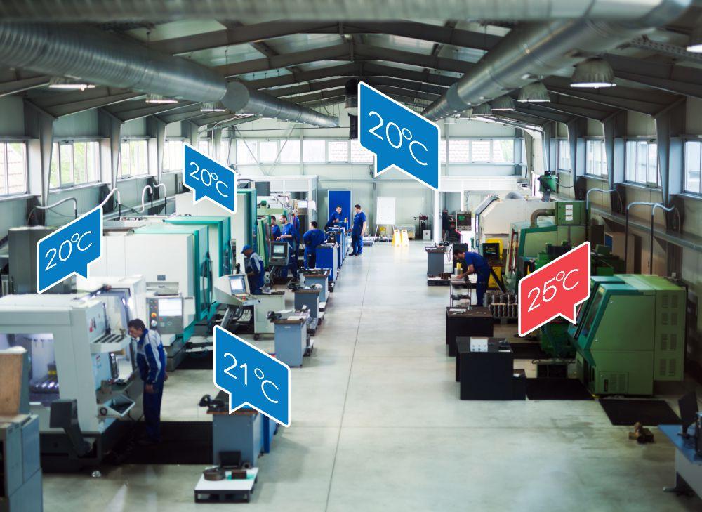 Merjenje temperature v proizvodnem procesu
