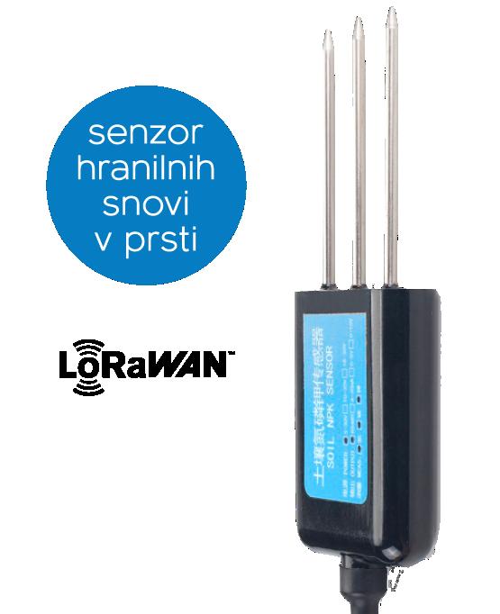 Dragino LSNPK01 - LoRaWAN senzor hranilnih snovi v zemlji