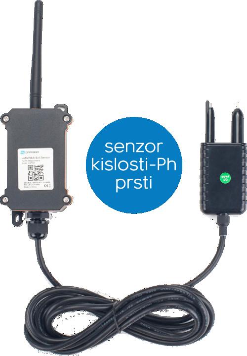 Namenski IoT senzorji za kmetijstvo