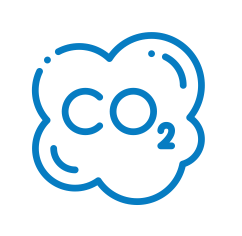 neprestano  samodejno merjenje CO2