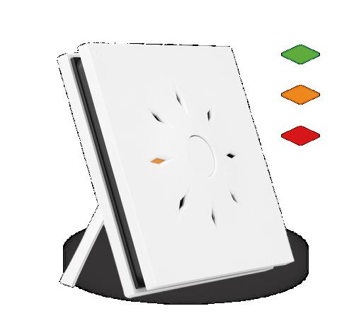 Nexelec Aero ambientalni senzor z vgrajenim semaforjem